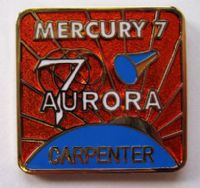 Mercury 7 Lapel Pin